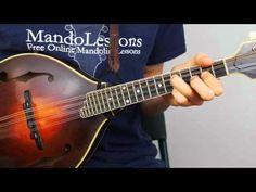 Mandolin Strum Patterns (Part 1): Bluegrass Chop Chords - Mandolin Lesson - YouTube
