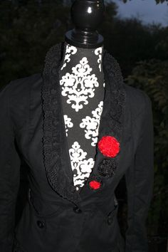 Refashioned Jacket-collar idea