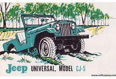Old Jeep, Jeep Cj, Eugene The Jeep, Jeep Images, Jeep Shirts, Vintage Jeep, Jeepers Creepers, Jeep Wrangler Rubicon, Car Drawings