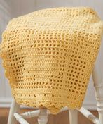 Crochet Filet Bunny Afghan