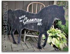 {Bees Knees Bungalow}: Ride the Champion!