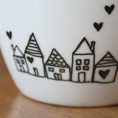 dibujos monigotes para tazas - Cerca con Google