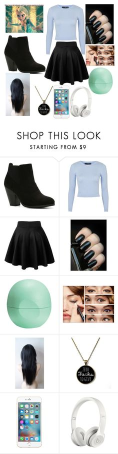 """""""Untitled #133"""" by aye-its-me-lila on Polyvore featuring Call it SPRING, Topshop, Eos, Benefit, Beats by Dr. Dre, women's clothing, women's fashion, women, female and woman"""