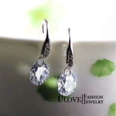 Find More Drop Earrings Information about Crystal Drop Wedding Women Earrings Simulated Diamond Silver 925 Dangle Earring Earing Fashion Jewelry Wholesale Ulove Y102,High Quality jewelry whistles,China jewelry dealer Suppliers, Cheap jewelry king from ULOVE Fashion Jewelry on Aliexpress.com
