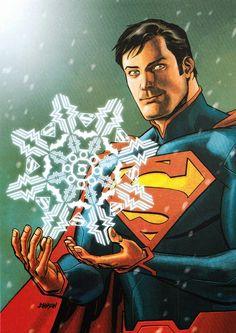 SUPERMANS SNOWFLAKE