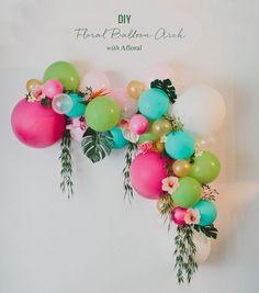 Let's Flamingle Banner, Bachelorette Party Banner, Tropical Party Decor, Flamingo Party, Last Flamingle Bridal Shower - ankakusu Flamingo Party, Diy Ballon, Ballon Party, Party City Balloons, 16 Balloons, Love Balloon, Balloon Garland, Balloon Crafts, Balloon Display