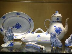 Herend and pretty dishes