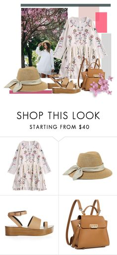 """Spring Dress"" by tia2 ❤ liked on Polyvore featuring Eugenia Kim, TIBI and ZAC Zac Posen"