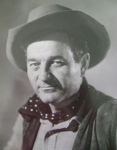 """~ Milburn Stone ~ Doc - He stayed w/ """"Gunsmoke"""" through its entire run. When did he look like this? Guess he was a for real cowboy! Golden Age Of Hollywood, Hollywood Actor, Old Hollywood, Hollywood Pictures, Old Western Movies, Western Film, Western Style, Milburn Stone, Star Pictures"""
