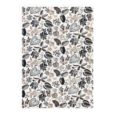 SYSSAN Tela per metres IKEA El lli aporta al teixit una textura natural irregular i fermesa al tacte.