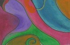 pittura su stoffa, acylic on canvas
