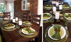 Several good ideas for different events/styles  Set Your Table Like HGTV's Property Brothers | HGTV Design Blog – Design Happens