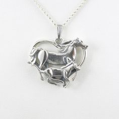 Sterling Silver Horse Necklace fr Donna by DonnaPizarroDesigns