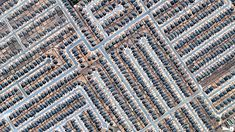 Satellite Aerial Photos of Earth - Residential Development, Killeen, Texas, USA Photo Satellite, Vue Satellite, Miami Beach, Ville New York, Our Planet Earth, Earth Photos, Aerial Images, Birds Eye View, Photo Projects