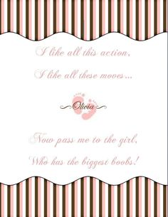 Baby Shower Game  Pass The Gift  Printable  GIRL by pastichepretty, $7.00