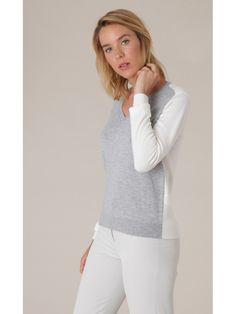 #Jersey Bicolor de Nice Things #Fashion #Moda