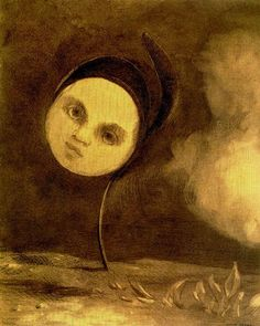 """(one of my """"Goodnight"""" posts on Facebook ~P.H).......Odilon Redon"""