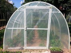 Diy Pvc Greenhouse Frame - Wood and steel framed greenhouses cost far more to build and take much more effort to erect. Pvc greenhouse frame benefits and drawbacks. Easy Way To . Build A Dog House, Build Your Own Shed, Aquaponics System, Aquaponics Diy, Build A Greenhouse, Greenhouse Ideas, Greenhouse Wedding, Greenhouse Frame, Cheap Greenhouse