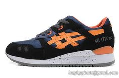 Men's Asics Gel-Lyte III Sneaker BLACK TAN H307N-9071 Black Gold|only US$95.00 - follow me to pick up couopons.