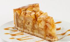 Recette : Tarte aux pommes et caramel Food Humor, Apple Recipes, Camembert Cheese, Biscuits, Brunch, Pie, Treats, Candy, Cookies