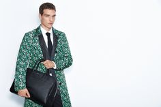 Modern tailored style from the BOSS Menswear Spring/Summer 2016 lookbook