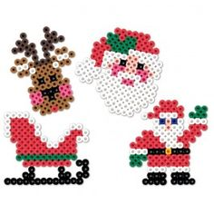Perler Beads Christmas Eve