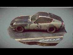 Marmoset Toolbag Low Poly Turntable Datsun ( Same shaders as Unity Skyshop) Low Poly Car, Datsun 240z, Low Poly Models, 3d Tutorial, Rigs, Turntable, Game Art, Unity, Paint Colors