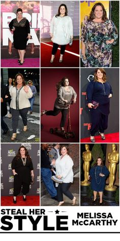 Melissa McCarthy always looks amazing. She needs her own clothing line.