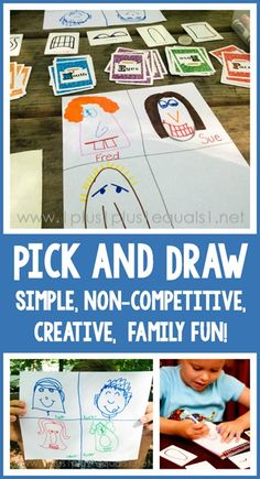 Pick and Draw ~ a simple, creative, drawing game