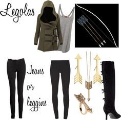 """Legolas Outfit!!"" by gabrielle-corlette on Polyvore"