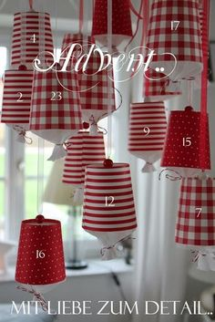 Today I'm showing the advent calendar for the magazine raspberry Berlin, himbeer-magazin. Natural Christmas, Simple Christmas, Christmas Diy, Christmas Decorations, Merry Christmas, Diy Holiday Gifts, Xmas Gifts, Holiday Crafts, Christmas Crafts For Adults