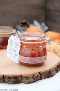 Bratapfel-Marmelade [vegan]