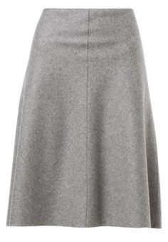 A-linjekjol - grå