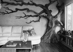 livingroom tree