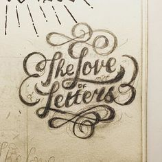 Looking forward to developing one or two old sketches over the Christmas break. It feels like ages since I last worked on a self initiated piece for the hell of it! #type #typography #handlettering #handtype #handmadefont #handcrafted #handdrawn #handdrawntype #art #branding #calligraphy #creative #calligritype #design #drawing #goodtype #graphicdesign #illustration #logo #logotype #pencil #letters #lettering #sketch #sketchbook #script #typographyinspired #thedailytype #vintage #doodle