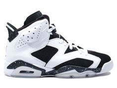 e87518556426 Buy New Air Jordan 6 (VI) Retro White Black-Speckle Oreo Basketball Shoes  Shop