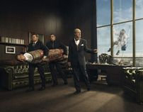 Wustenrot Risk Insurance Product Campaign by Leonard Savage , via Behance
