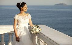 Vestido perfeito da Carol Hungria no Yes Wedding