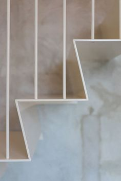 Casa Ljungdahl by Note Design Studio stair detail Architecture Bordeaux, Interior Architecture, Note Design Studio, Notes Design, Stairs To Heaven, Stockholm Apartment, Casa Loft, Stair Handrail, Railings