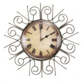 Patterned  Wall Clock