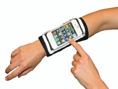 MyBand: Ultimate Fitness Armband for iPhone iPod Touch, Classic & Nano. Wrist Watch Phone, Arm Workout With Bands, Running Accessories, Cl Shoes, Run Happy, New Phones, Shopping Sites, Smell Good, Exercises