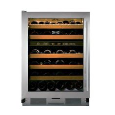 """The perfect #appliance for wine lovers! This @Sub-Zero 24"""" wine cooler can store up to 46 bottles of wine in two unique temperature zones! This way you can store your red and white wines and the ideal temperature in two separate compartments!"""