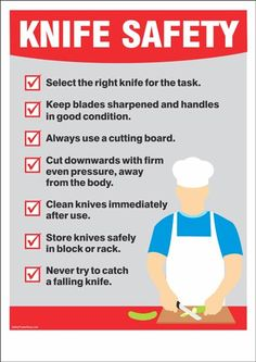 Printable Occupational Health and Safety Poster Food Safety Training, Food Safety Tips, Culinary Classes, Cooking Classes, Cooking 101, Culinary Arts, Kitchen Safety Rules, Food Safety And Sanitation, Kitchen Posters