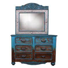 Las Cruces 2 Dresser | Jorge Kurczyn Western Furniture