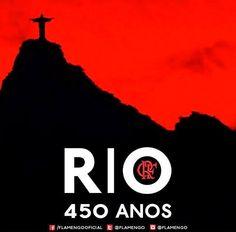 Homenagem do Flamengo aos 450 anos da Cidade do Rio de Janeiro - Flamengo  Oficial f6bf4c43ab0e7
