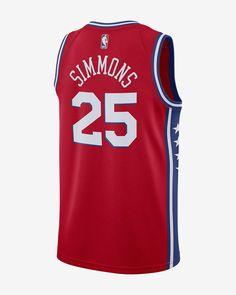 Nike Ben Simmons Statement Edition Swingman Jersey (Philadelphia 76Ers)  Men s Nba Connected - S (40) 00216df2c