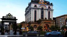 Mẫu thiết kế khách sạn 7 tầng phong cách cổ điển Pháp tại Bắc Ninh