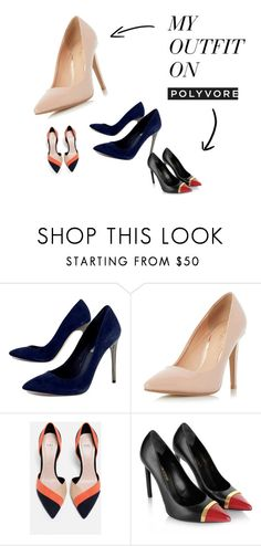 """CLASSICA - SAPATOS"" by conti-k on Polyvore featuring moda, BCBGMAXAZRIA, Dorothy Perkins, Zara e Yves Saint Laurent"