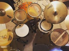 Say hi to my new set! Drums was my first love and I finally have the chance to claim it again! I'm still playing bass though lol. #drums #ddrumdios #ddrum #drumporn #drumpornography by keep.it.bassy