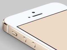 Here is the Apple's new iPhone5S (Dat Gold Edition) mockup made in Photoshop CC. Free PSD designed by Ryan Ford.